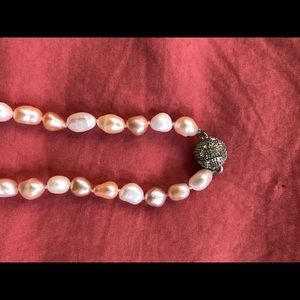 Accessories - Two color fresh water pearl necklace